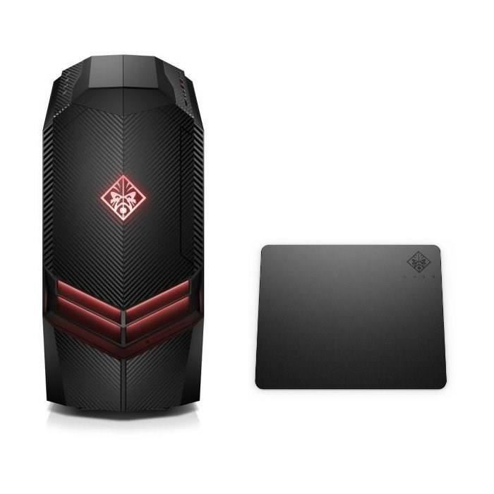 HP PC GAMER OMEN - 880087nf -RAM 8Go- Windows 10- Intel Core i5- NVIDIA GTX 1050 - Disque dur 1 To + 16 Go Optane + tapis omen