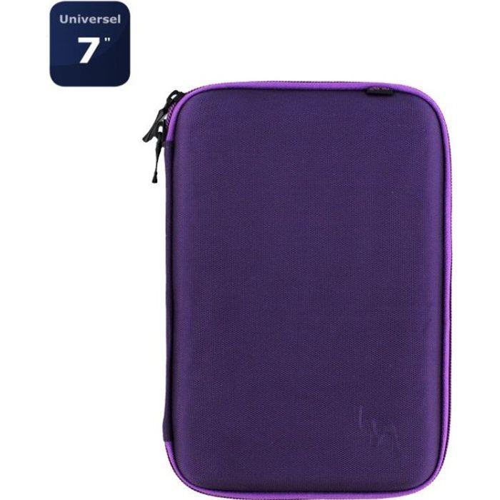 T'NB Housse de protection universelle pour tablette 7- - Collection SUBLIM - Violet
