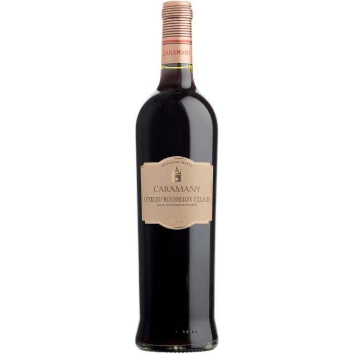 Caramany 2017 Côtes du Roussillon Villages - Vin rouge du Languedoc