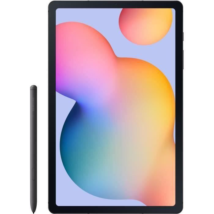 Tablette Tactile - SAMSUNG Galaxy Tab S6 Lite - 10,4- - RAM 4Go - Stockage 64Go - Android 10 - Argent - WiFi