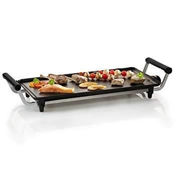 DOMO Plancha électrique Teppanyaki - DO8307TP - 2100 W - Noir + Pack supporter