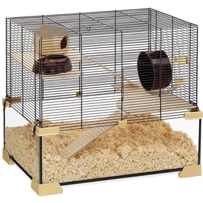 KARAT 60 Cage en verre hamsters et souris