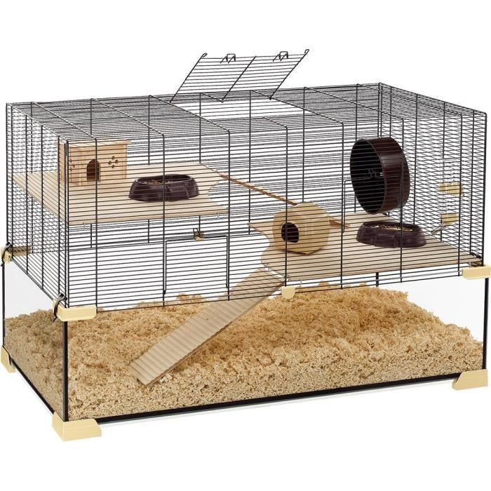 KARAT 100 Cage en verre hamsters et souris