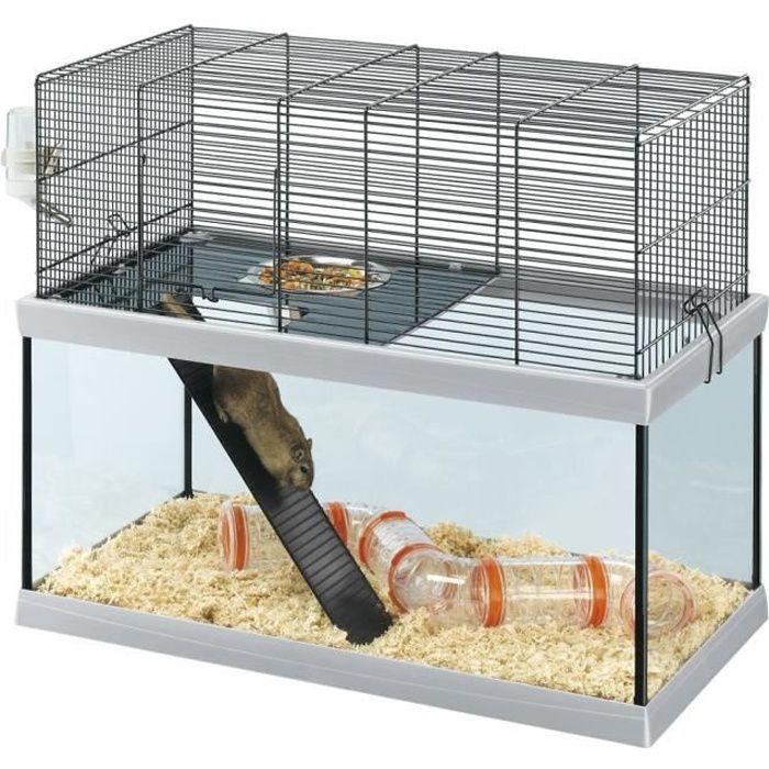 GABRY 60 Cage en verre pour gerbilles