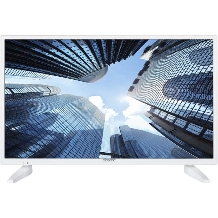 OCEANIC TV LED HD 80cm (31.5'') Blanc