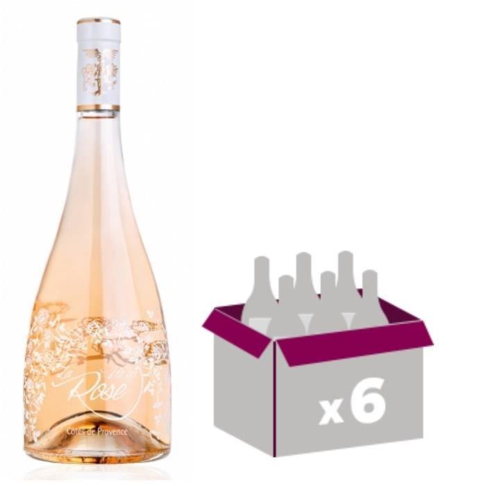 La Vie En Rose 2017 Château Roubine x6 Côtes de Provence rosé