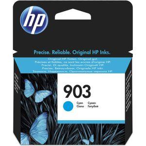 CARTOUCHE IMPRIMANTE HP 903 cartouche d'encre cyan authentique pour HP