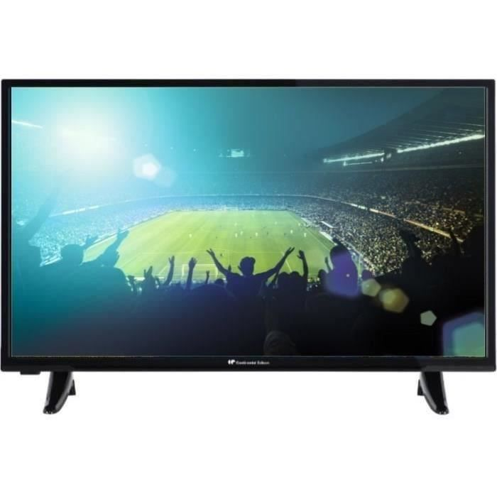 continental edison tv led hd smart 80cm 31 5 televiseurspaschers. Black Bedroom Furniture Sets. Home Design Ideas