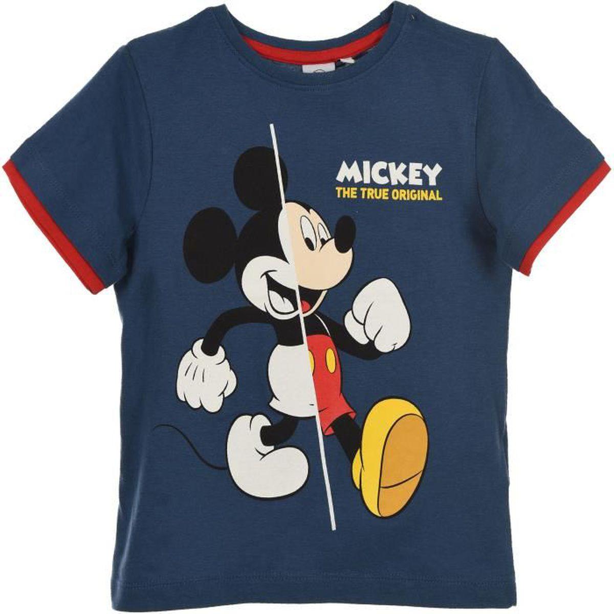 Ensemble de vêtements MICKEY Ensemble short et T-shirt doubles manches G