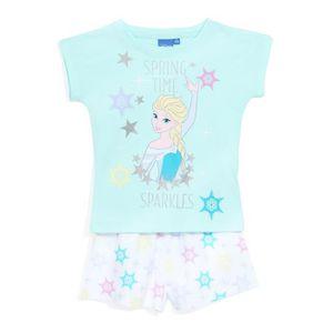 PYJAMA LA REINE DES NEIGES Pyjama Bleu Enfant Fille Sérig