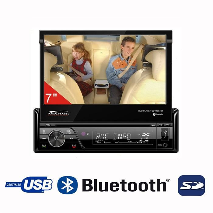 takara cdv1687bt autoradio achat vente autoradio takara cdv1687bt prix mini cdiscount. Black Bedroom Furniture Sets. Home Design Ideas