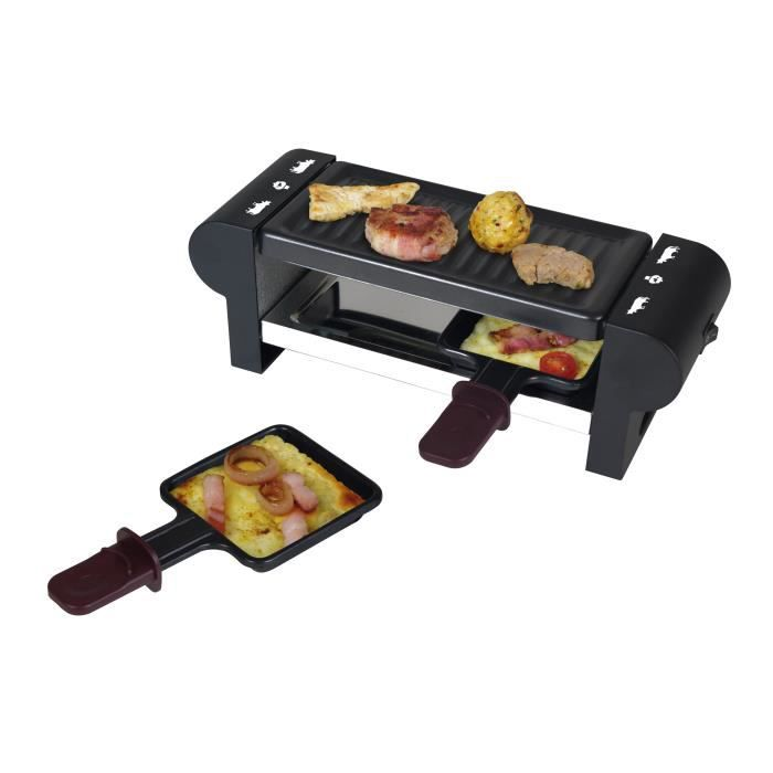 kalorik raclette 2 personnes tkg rac 1007 cs achat vente appareil raclette cdiscount. Black Bedroom Furniture Sets. Home Design Ideas
