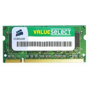 MÉMOIRE RAM CORSAIR Mémoire PC Portable DDR2 - Value Select 2