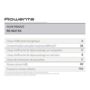 Aspirateur - ROWENTA Silence Force Compact Ivoire