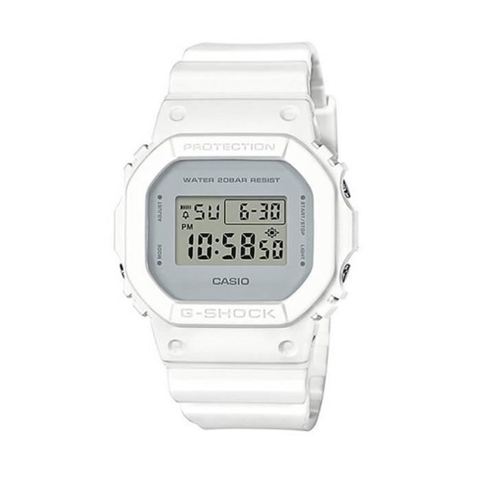 montre g shock blanc achat vente pas cher. Black Bedroom Furniture Sets. Home Design Ideas