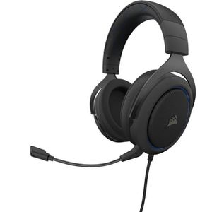 CASQUE AVEC MICROPHONE CORSAIR Casque Gamer HS50 PRO STEREO - Filaire - B