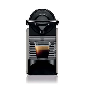 MACHINE À CAFÉ KRUPS YY4127FD Pixie titane Machine expresso Nespr