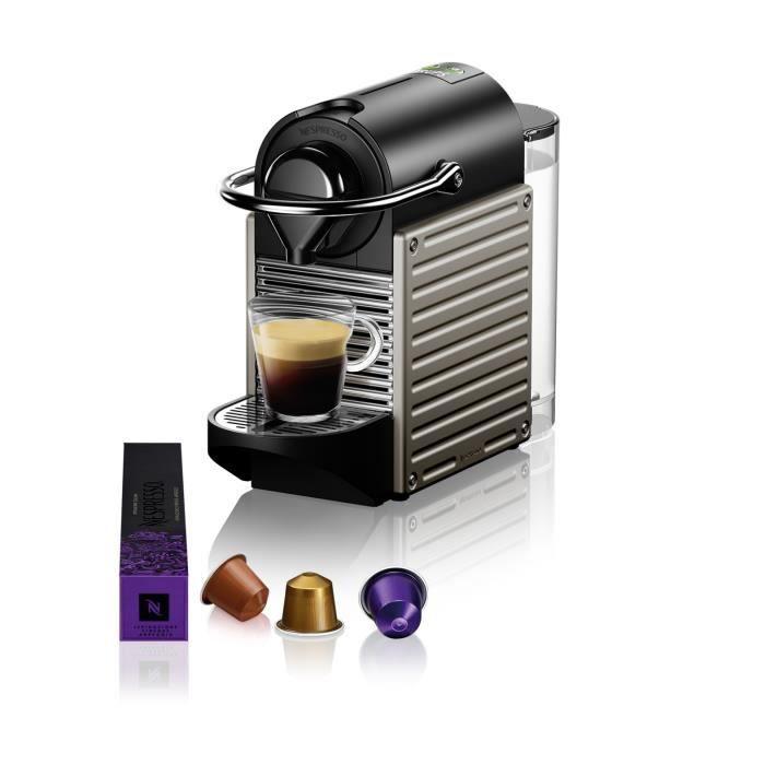 Krups Nespresso Inissia 3 tasses cafetière-rouge XN1005 N