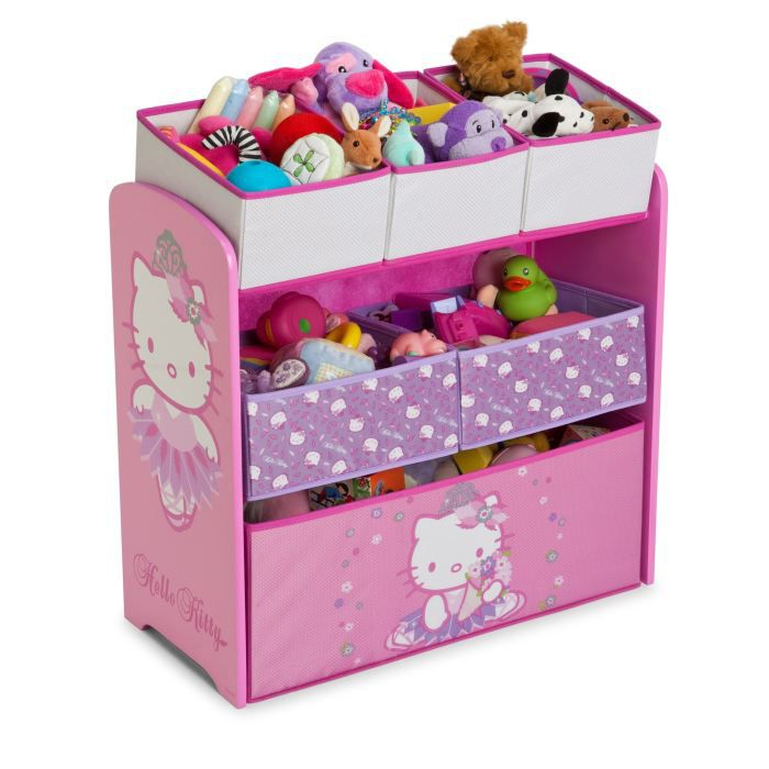 hello kitty meuble de rangement enfant 6 bacs achat vente petit meuble rangement hello kitty. Black Bedroom Furniture Sets. Home Design Ideas