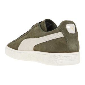 the latest aa0e4 c3e69 ... BASKET PUMA Baskets basses Suede Classic - Femme - Vert k ...