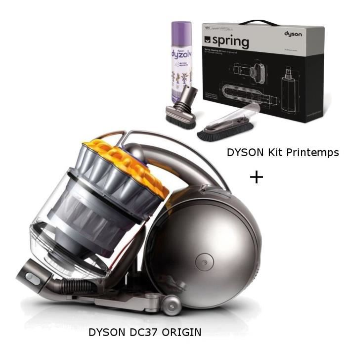 ASPIRATEUR TRAINEAU Aspirateur sans sac DYSON DC37 ORIGIN + Kit access