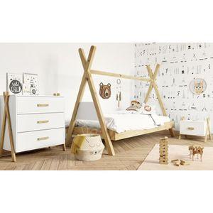 CHAMBRE COMPLÈTE  AMAROK Chambre complète enfant - lit + chevet + co