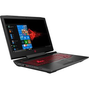 "PC Portable OMEN By HP PC Portable 17-an127nf - 17""FHD - Intel® Core™ i7-8750H - RAM 8Go - Stockage 256Go SSD + 1To HDD - GTX1060 - Win 10 pas cher"