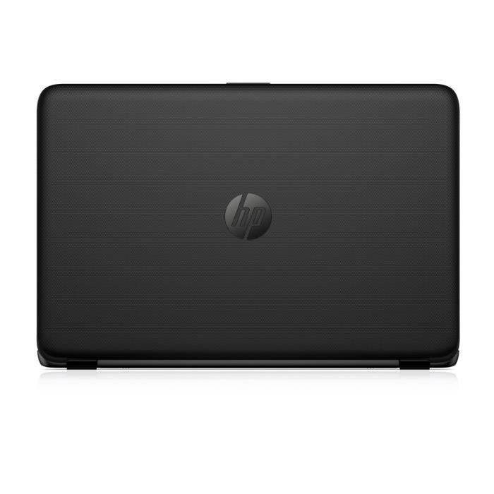 hp pc portable notebook 15af127nf noir ram 6go windows. Black Bedroom Furniture Sets. Home Design Ideas