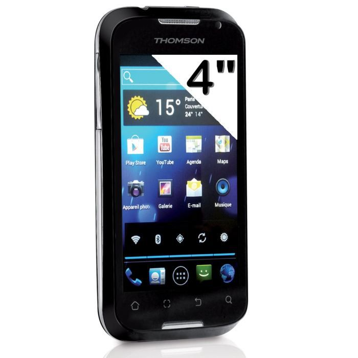 SMARTPHONE THOMSON  X Link 4.0  TH1127 Noir