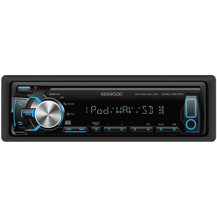 kenwood kmm 357sd autoradio usb sd ipod direct achat. Black Bedroom Furniture Sets. Home Design Ideas