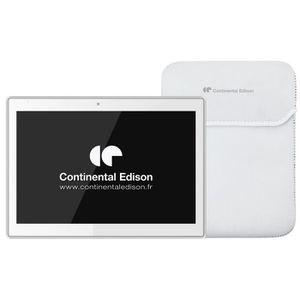 TABLETTE TACTILE CONTINENTAL EDISON Tablette tactile 10.1'' Blanche