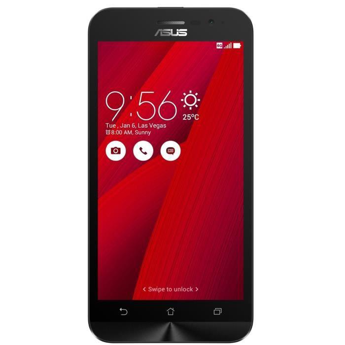 SMARTPHONE ASUS Zenfone Go G500KL Rouge 4G 16Go