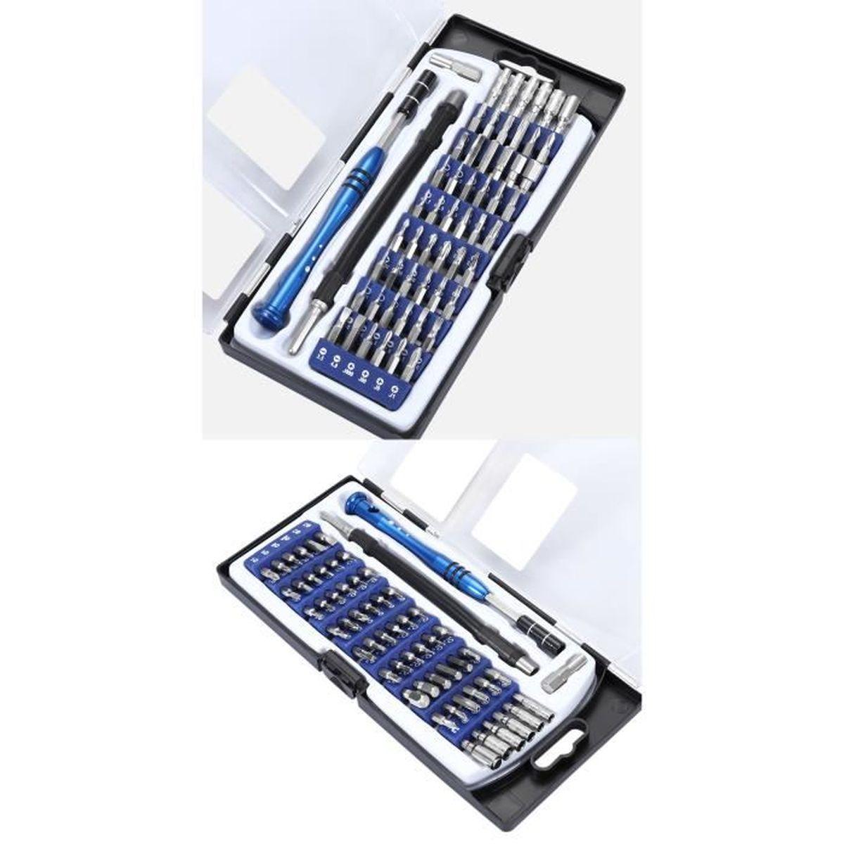 Lunettes,Laptop Appareil Laptop,iphone 32 en 1 Kit Tournevis de Pr/écision Magn/étique Professionnel Outils de Reparation Tournevis Pour Portable Ordinateur
