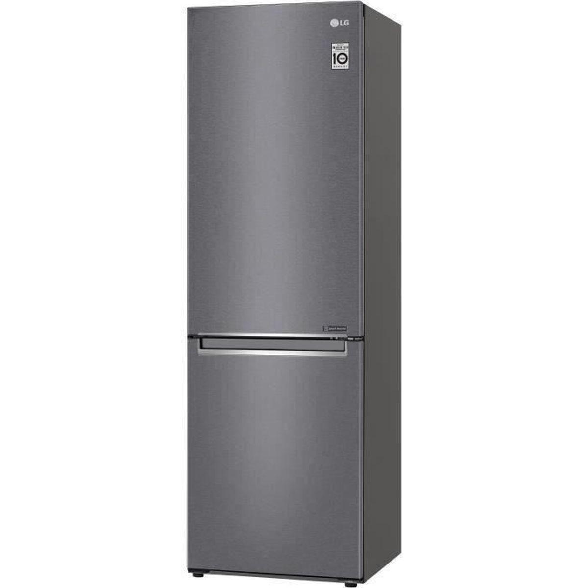 RÉFRIGÉRATEUR CLASSIQUE LG GBP30DSLZN - Réfrigérateur combiné - 341 L (234