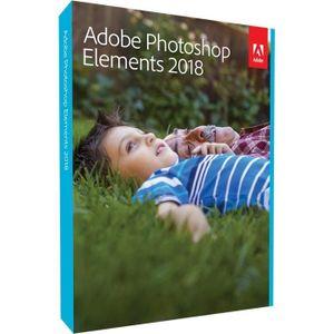 MULTIMÉDIA ADOBE Photoshop Elements v2018 Mlp FR