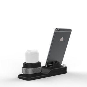CHARGEUR TÉLÉPHONE Support Chargeur 3 en 1 pour Airpods APPLE IWATCH