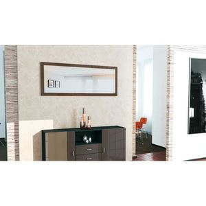 miroir mural de salon achat vente miroir mural de salon pas cher cdiscount. Black Bedroom Furniture Sets. Home Design Ideas
