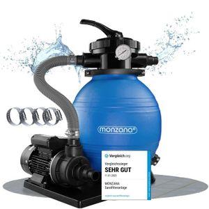 POMPE - FILTRATION  Pompe filtre à sable et particule 10200 l/h avec p