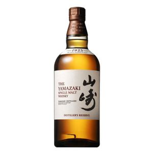 WHISKY BOURBON SCOTCH Yamazaki Distiller's réserve 70 cl