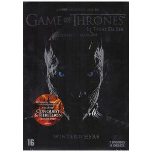 DVD SÉRIE Game Of Thrones - Saison 7 : Inclus