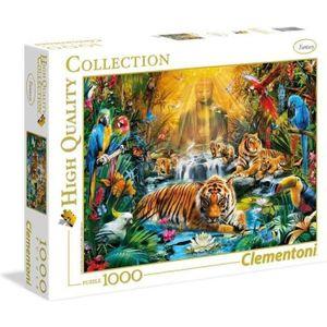 PUZZLE PUZZLE 1000 pièces - Le tigre mystique