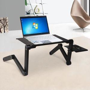 SUPPORT PC ET TABLETTE COSTWAY Support PC Table Ordinateur Tablette Lit B