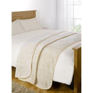Gaufrier Design luxueux jette Super Doux Chaud Confortable Canapé et Lit Polaire Couvertures