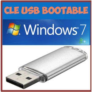 SYSTÈME D'EXPLOITATION Clé Usb Bootable windows 7 sans clé d'activation 6