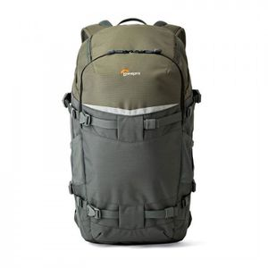 SAC PHOTO Lowepro Flipside Trek BP 450 AW Gris/Vert - Sac a
