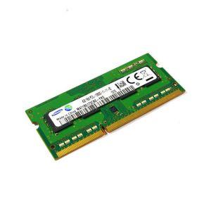 MÉMOIRE RAM 4Go RAM PC Portable SODIMM DDR3 PC3L-12800S Samsun