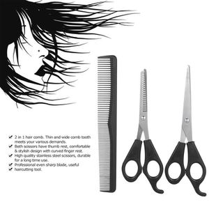 CISEAUX - EFFILEUR Pro Ciseaux de coupe de cheveux Set:1*Ciseaux régu