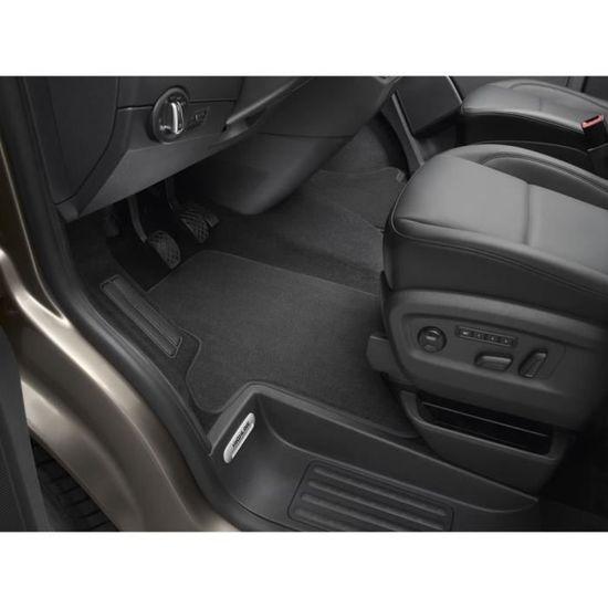 Volkswagen 5G1061270AHY Ensemble de Quatre Tapis de Sol en Velours Noir//Rouge