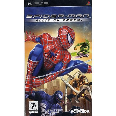 spiderman allie ou ennemi jeu console psp achat vente jeux psp spiderman allie ou ennemi. Black Bedroom Furniture Sets. Home Design Ideas