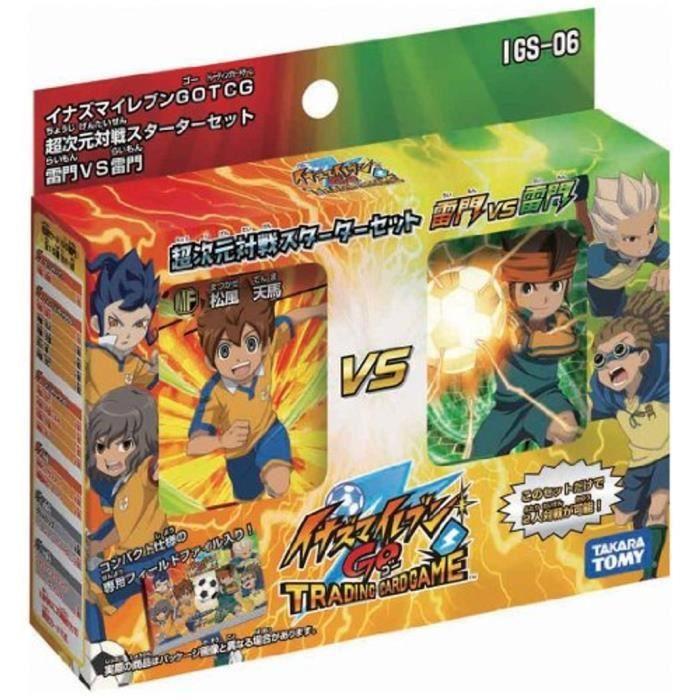Figurine Inazuma Eleven GO - Hyperdimension Starter Set [Raimon VS Raimon] par Takara Tomy VO japonaise
